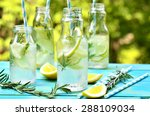 Citrus Fizz With Rosemary In A...