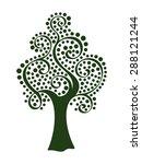 vector tree 17   Shutterstock .eps vector #288121244