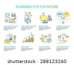 set of flat line icon  ... | Shutterstock .eps vector #288123260