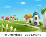 Surreal Cartoon Wonderland...