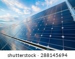 photovoltaic modules reflect... | Shutterstock . vector #288145694