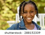 African American Cute Little...