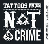 tattoo parlor template | Shutterstock .eps vector #288162284