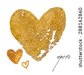 Sparkling Gold Acrylic Stain....