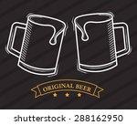 cold beer design  vector...   Shutterstock .eps vector #288162950