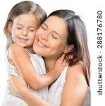 mother  daughter  bio. | Shutterstock . vector #288176780