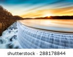 Sunrise Over Croton Dam  Ny An...