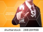 business  technology and... | Shutterstock . vector #288184988