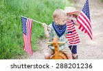 toddlers having fun in the park ... | Shutterstock . vector #288201236