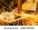 industrial welding automotive... | Shutterstock . vector #288228584