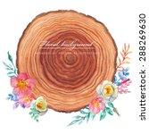 Wood And Briar. Watercolor...