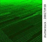 abstract green digital... | Shutterstock .eps vector #288273938
