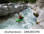 Whitewater Kayaking Down The...
