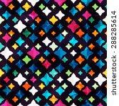 bright diamond seamless pattern ... | Shutterstock .eps vector #288285614