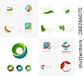 universal abstract geometric... | Shutterstock .eps vector #288286070
