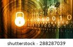 internet security concept  | Shutterstock . vector #288287039