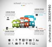 vector illustration of school... | Shutterstock .eps vector #288309980