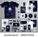 abstract  business set in... | Shutterstock .eps vector #288319043