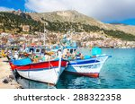 kalymnos  greece   may 01  2015 ... | Shutterstock . vector #288322358