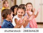 Preschoolers Playing In...