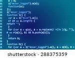 developer software programming... | Shutterstock . vector #288375359