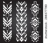 vector ethnic geometric... | Shutterstock .eps vector #288377780