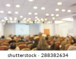 blurred image of audience... | Shutterstock . vector #288382634