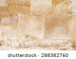 Aged Sand Stone Brick Wall...