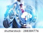 cloud computing concept... | Shutterstock . vector #288384776