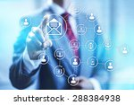 email marketing business... | Shutterstock . vector #288384938