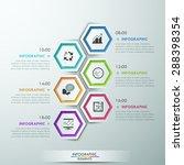 modern infographics process... | Shutterstock .eps vector #288398354