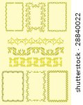seamless patterns and... | Shutterstock .eps vector #28840022