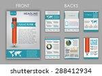 design of flyers  brochures and ... | Shutterstock .eps vector #288412934