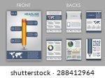 design of flyers  brochures and ... | Shutterstock .eps vector #288412964