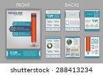 design of flyers  brochures and ... | Shutterstock .eps vector #288413234