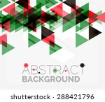 abstract geometric background....   Shutterstock . vector #288421796