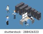 isometric vector illustration... | Shutterstock .eps vector #288426323