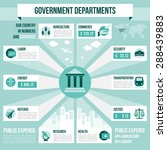 government departments... | Shutterstock .eps vector #288439883