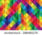 colorful abstract background | Shutterstock .eps vector #288485270