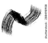 wide vector grunge brush... | Shutterstock .eps vector #288498908