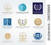 law frm logo set | Shutterstock .eps vector #288538868