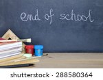 end of school summer camp... | Shutterstock . vector #288580364