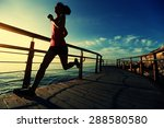 healthy lifestyle sports woman... | Shutterstock . vector #288580580
