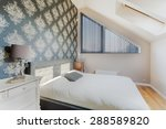 black oriental wallpaper in...   Shutterstock . vector #288589820
