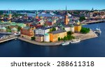 Panorama Of Stockholm  Sweden
