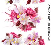 vector seamless wallpaper... | Shutterstock .eps vector #288629420