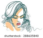 vector background with a... | Shutterstock .eps vector #288635840