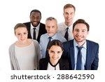 multi ethnic business team... | Shutterstock . vector #288642590