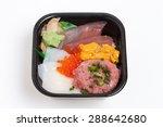 Sashimi Rice Japanese  Seafood...