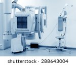 x ray machine in hospital | Shutterstock . vector #288643004